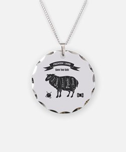 Cute Lambs and sheep Necklace