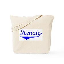 Kenzie Vintage (Blue) Tote Bag
