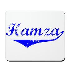Hamza Vintage (Blue) Mousepad