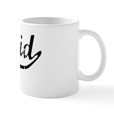 Khalid Vintage (Black) Mug