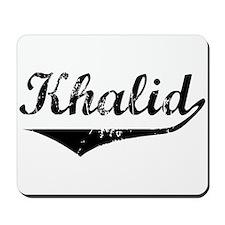 Khalid Vintage (Black) Mousepad