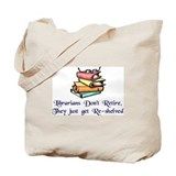 Funny librarian Canvas Totes