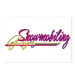 Snowmobiling Postcards (Package of 8)