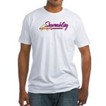Snowmobiling Fitted T-Shirt