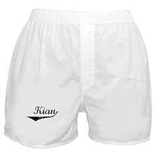 Kian Vintage (Black) Boxer Shorts