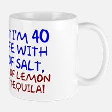 Funny 40th Birthday Small Mugs
