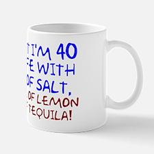 Funny 40th Birthday Small Small Mug