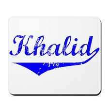 Khalid Vintage (Blue) Mousepad
