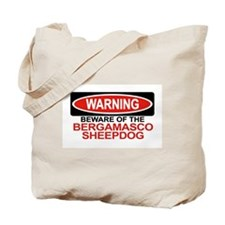 BERGAMASCO SHEEPDOG Tote Bag