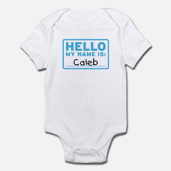 Hello My Name Is: Caleb - Infant Bodysuit