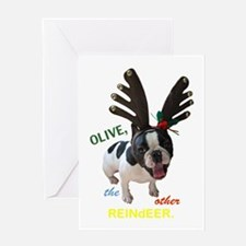 Olive Greeting Cards