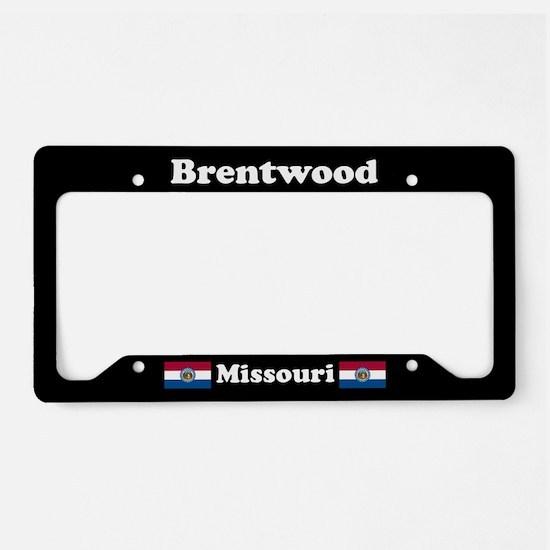 Brentwood MO - LPF License Plate Holder