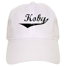Koby Vintage (Black) Baseball Cap