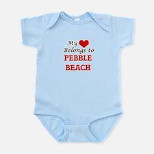 My Heart Belongs to Pebble Beach Califor Body Suit