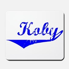 Koby Vintage (Blue) Mousepad