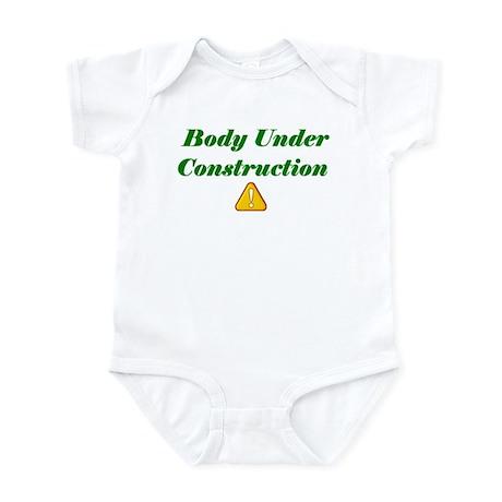 Body under construction Infant Bodysuit