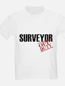 Off Duty Surveyor T-Shirt