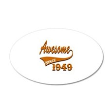 Awesome Since 1949 Birthday Wall Decal