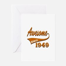 Awesome Since 1949 Birth Greeting Cards (Pk of 20)