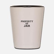 Property of JAIR Shot Glass