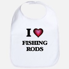 I love Fishing Rods Bib