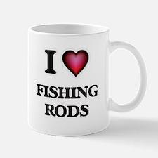 I love Fishing Rods Mugs