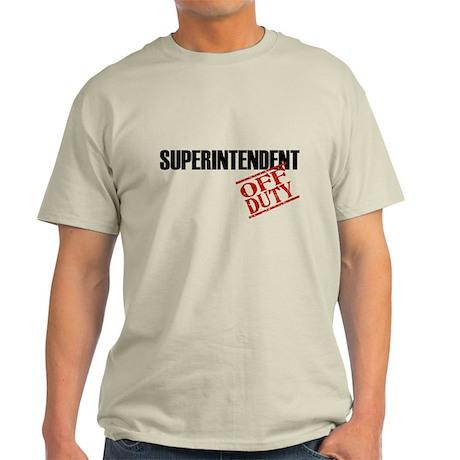 Off Duty Superintendent Light T-Shirt