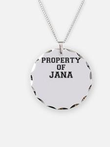 Property of JANA Necklace
