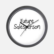 Future Salesperson Wall Clock