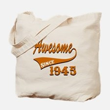 Awesome Since 1941 Birthday Designs Tote Bag