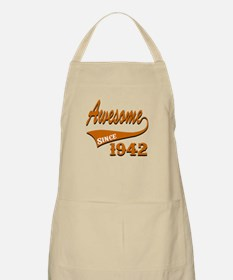 Awesome Since 1937 Birthday Designs Apron
