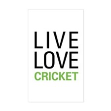 Live Love Cricket Stickers