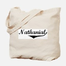 Nathanial Vintage (Black) Tote Bag
