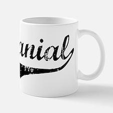 Nathanial Vintage (Black) Mug