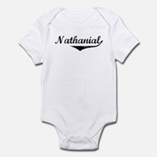 Nathanial Vintage (Black) Infant Bodysuit