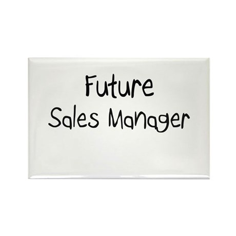 Future Sales Manager Rectangle Magnet (10 pack)