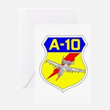 A-10 CREST III Greeting Card