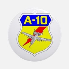 A-10 CREST III Ornament (Round)