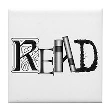 Unique Literacy Tile Coaster