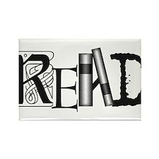 Unique Reading Rectangle Magnet (10 pack)