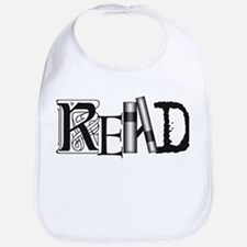Cute Literacy Bib