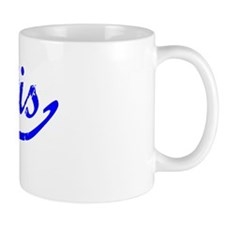 Kurtis Vintage (Blue) Small Mug