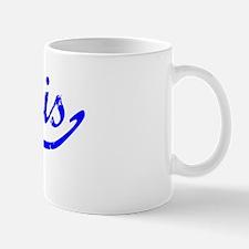 Kurtis Vintage (Blue) Small Small Mug