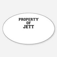 Property of JETT Decal