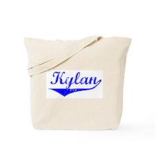 Kylan Vintage (Blue) Tote Bag
