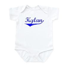Kylan Vintage (Blue) Infant Bodysuit