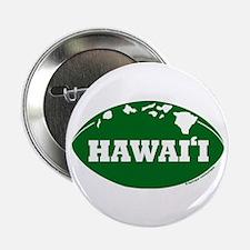 """Funny Hawaiian warrior 2.25"""" Button"""