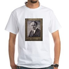 White Houdini Portrait T-Shirt