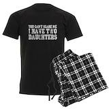Two daughters Men's Dark Pajamas