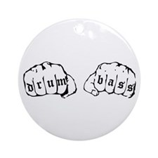Drum and Bass Fists Ornament